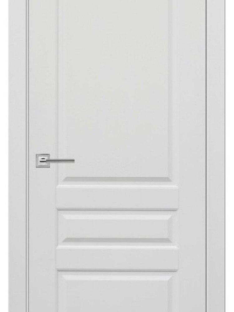 Межкомнатная дверь Турин 4 эмаль белая