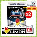 Finish Quantum MAX Powerball Spülmaschine Waschmittel Gericht Reiniger 116 stücke Tabletten FREIES SHIPPPING Konzentrat Reinigung Geschirr