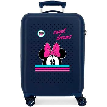 Suitcase Minnie Sweet Dreams 55cm. ABS trolley with wheels, suitcase travel cabin, suitcase travel cabin rigid FREE SHIPPING log cabin suitcase man spider dimensions 55x38x20cm free shipping