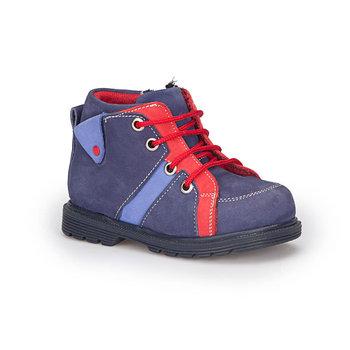 FLO 72 509579 B granatowe męskie buty dziecięce Polaris tanie i dobre opinie Płótno Korka Chłopcy