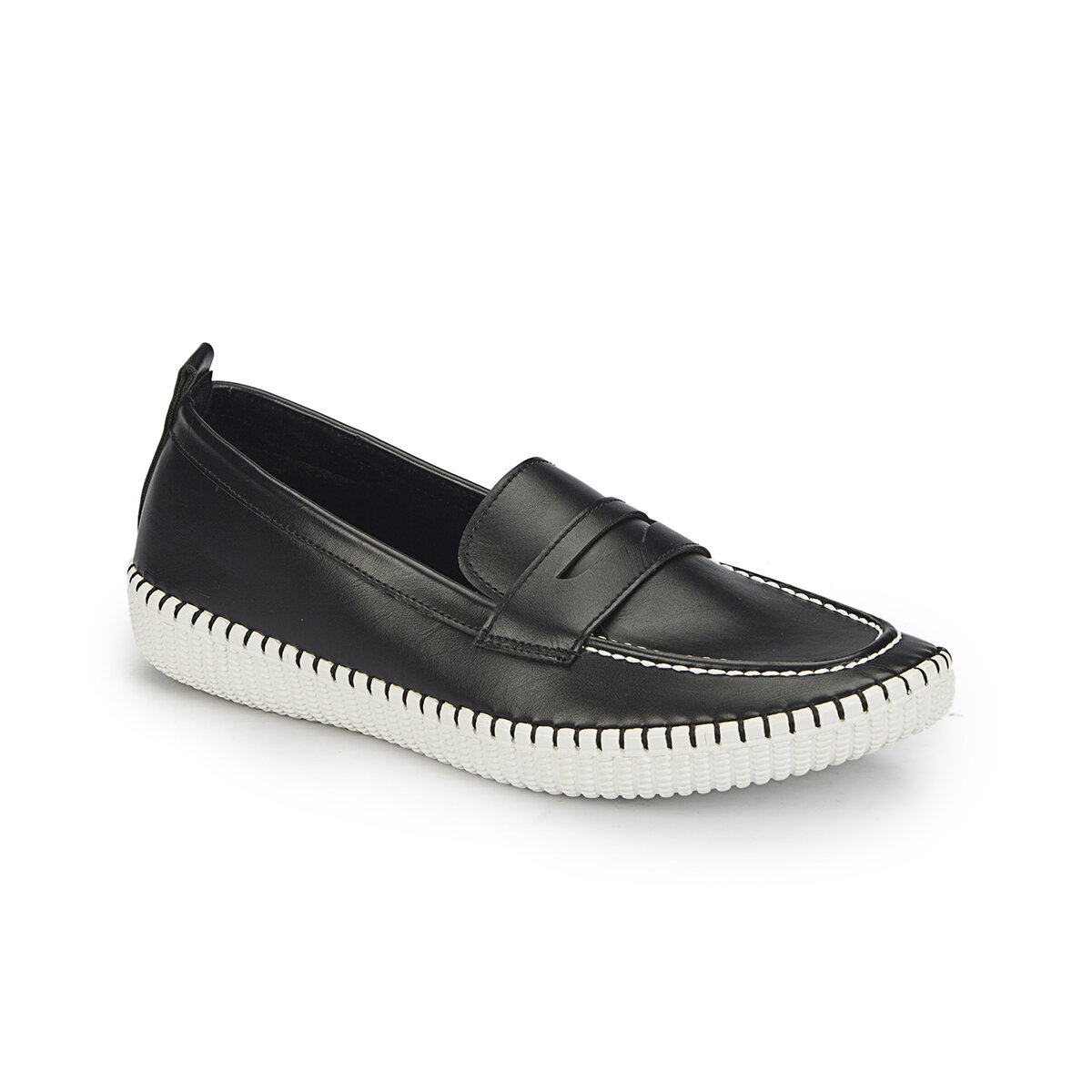 FLO 81. 311382.Z Black Women Loafer Shoes Polaris