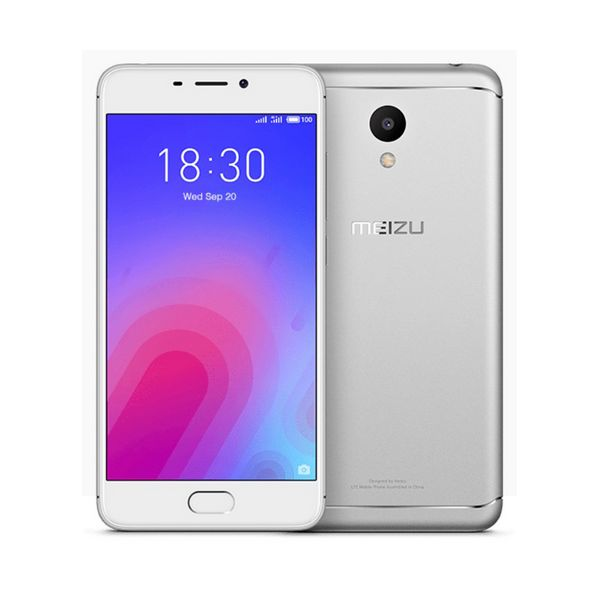 Смартфон Meizu M6, 5,2 дюйма, 8 ядер, 32 ГБ, 3 ГБ ОЗУ, серебристый
