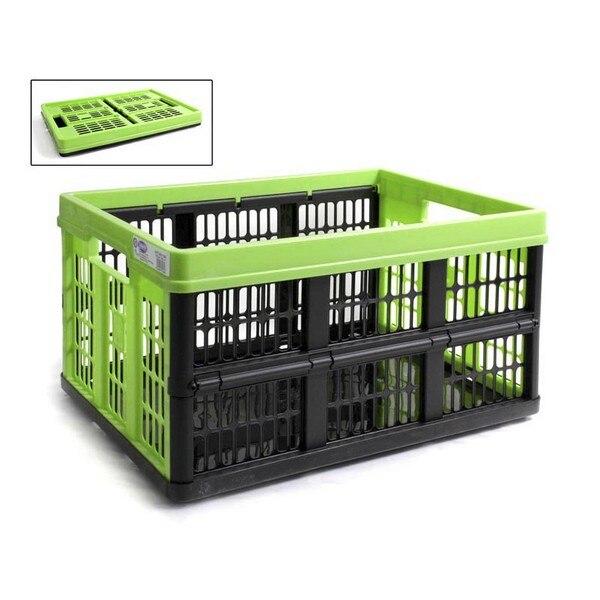 Ev ve Bahçe'ten Katlanabilir Depolama Çantaları'de Çok kullanımlı kutu Tontarelli 45 L katlanabilir plastik (53X37x27 cm) title=