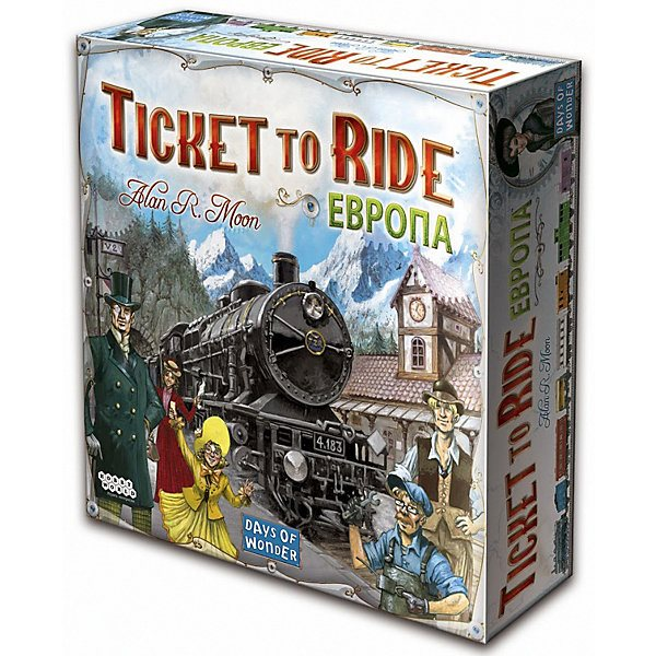 Board game Hobby World Ticket to Ride: Europe, 3rd edition hobby world настольная игра ticket to ride junior европа