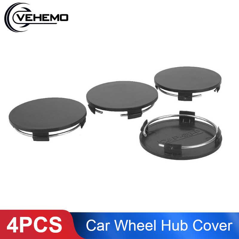 Vehemo nenhum logotipo cubo de roda capa pneu roda centro tampa durável estilo do carro hub capa de roda de reposição premium para 60mm-56.8mm