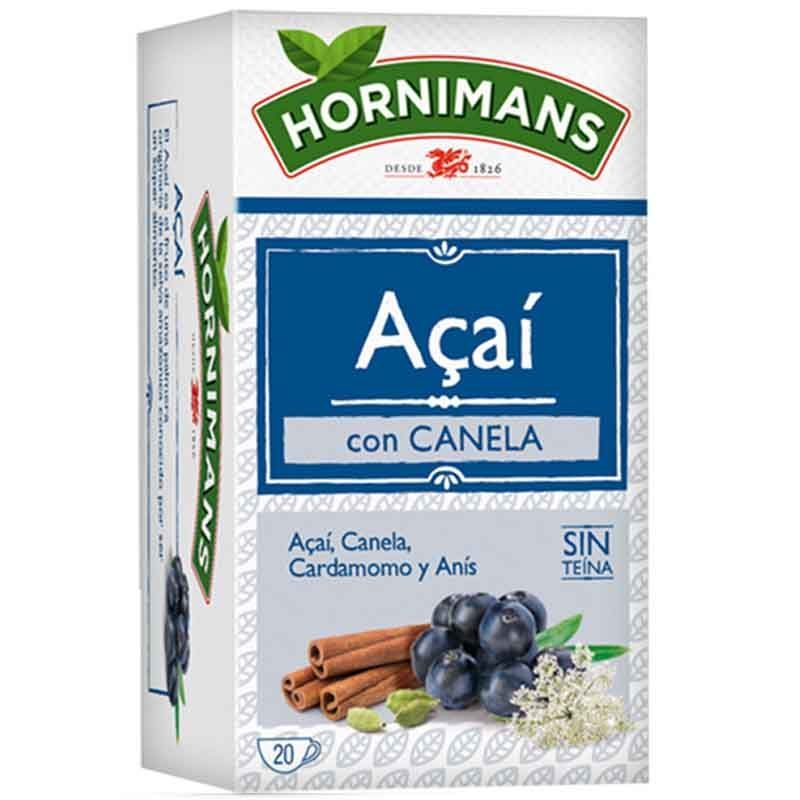 Infusion Acai With Cinnamon, Cardamom And Anise 20 Bags Hornimans