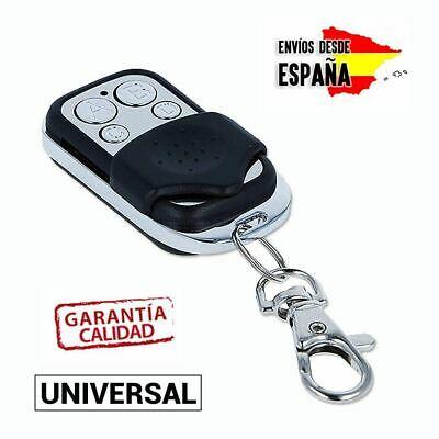 Se Envia Desde España MANDO CLONADOR DE GARAJE UNIVERSAL PARA PUERTA 433.92 Llevalo En Lavero. Coche, Finca, Aparcamiento