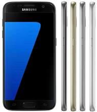 Samsung-teléfono inteligente Galaxy S7 G930F, Tarjeta Única de 32GB, GSM, pantalla de 5,1 pulgadas, cuatro núcleos, WIFI, GPS, 12MP, 4G, LTE, desbloqueado