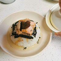 温暖治愈 日式三文鱼梅子茶泡饭的做法图解9