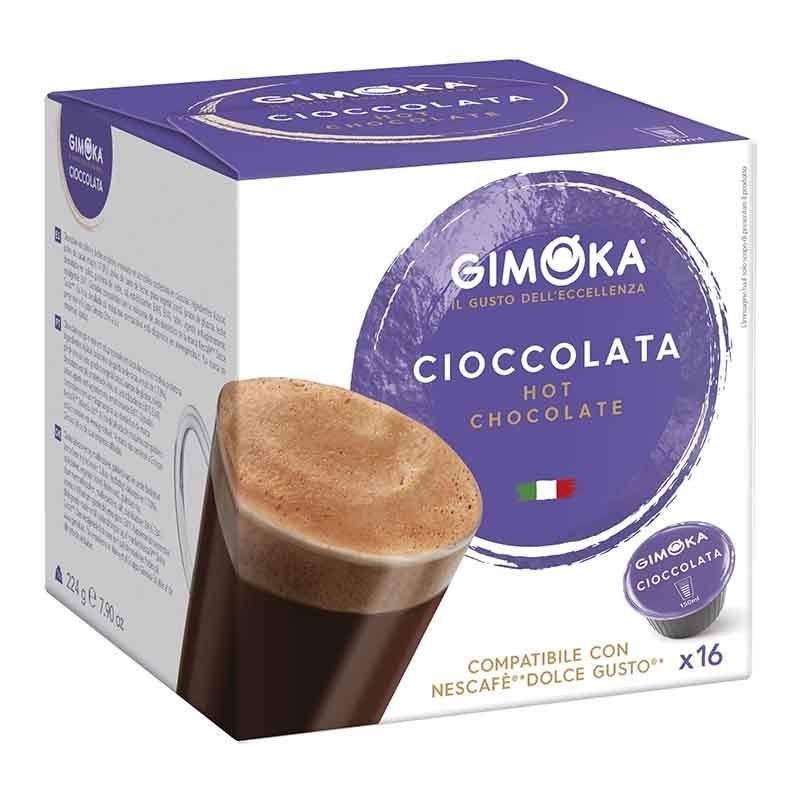 Cocoa Gimoka®Dolce Taste®Compatible 16 capsules