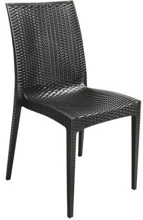Chair RÓMULO, Polypropylene, Anthracite