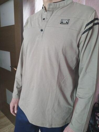 T-Shirt homme Liseaven manches longues ras du cou