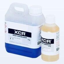 Эпоксидная смола Кристально Чистая УФ XCR профессиональный комплект 500gr ремесла, ремонт дома, углеродное волокно