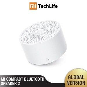 Image 1 - Xiaomi mi компактный Bluetooth динамик 2 (версия ЕС) беспроводной портативный mi ni Bluetooth динамик стерео бас с mi c HD