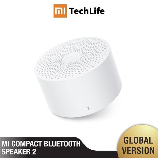Xiaomi mi компактный Bluetooth динамик 2 (версия ЕС) беспроводной портативный mi ni Bluetooth динамик стерео бас с mi c HD