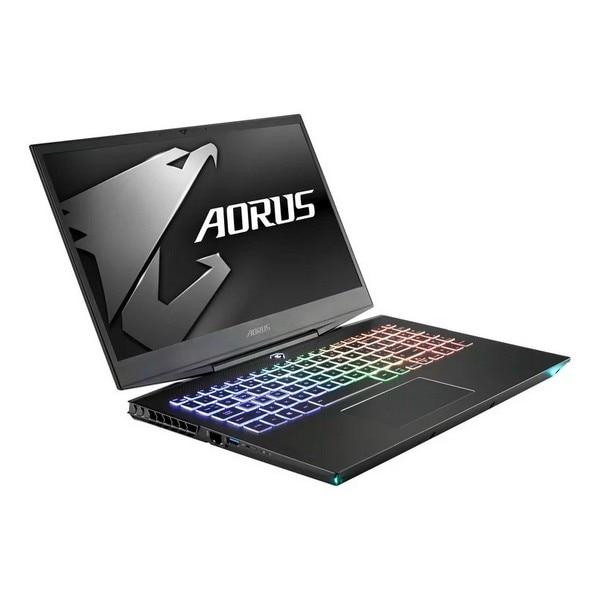 """Gaming Portable Computer Gigabyte Aorus15 XA-7 15,6"""" I7-9750H 16 GB RAM 512 GB SSD + 2 TB Black"""
