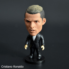 7cm Star Soccer Players Movable Joints Resin Action Figures