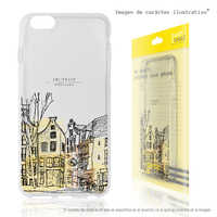 FunnyTech®Stand case for Motorola Moto Silicone G5S plus L Amsterdam town fund transparent