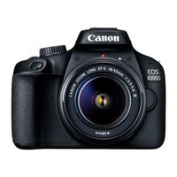 Reflex camera Canon EOS 4000D WIFI Black
