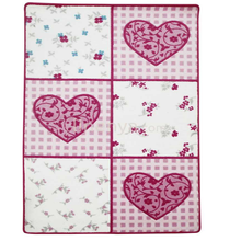 Confetti Play Mats Romantic Heart Carved 100x160