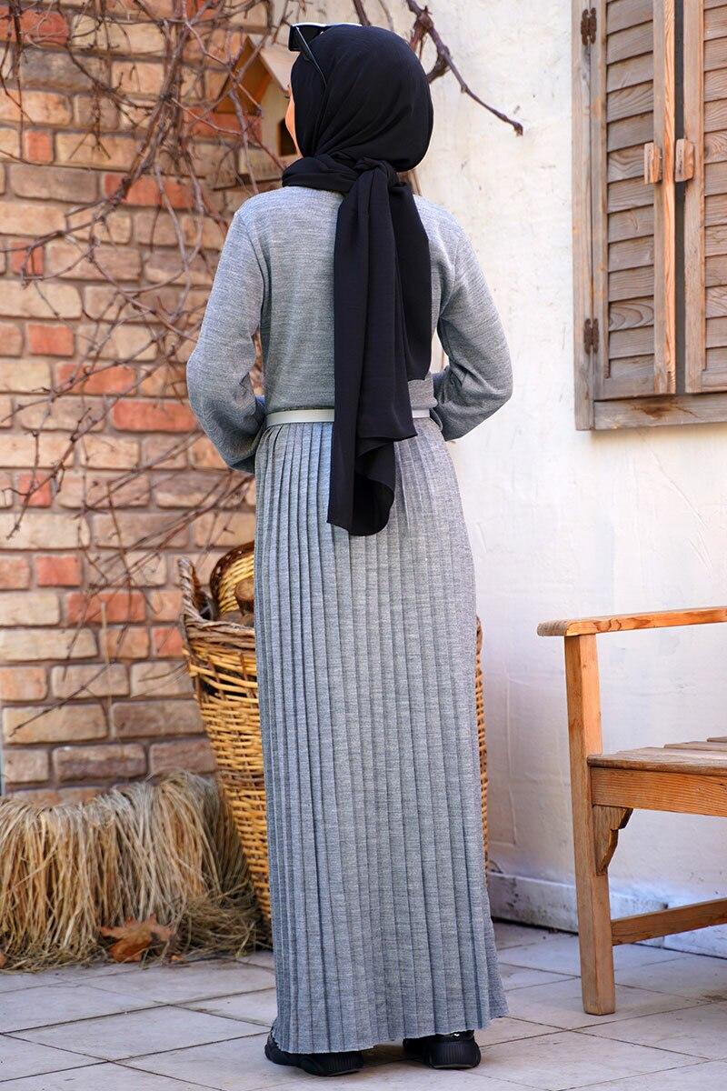 kemerli-model-etegi-piliseli-gri-triko-elbise-triko-elbise-hbs-210437-45-B