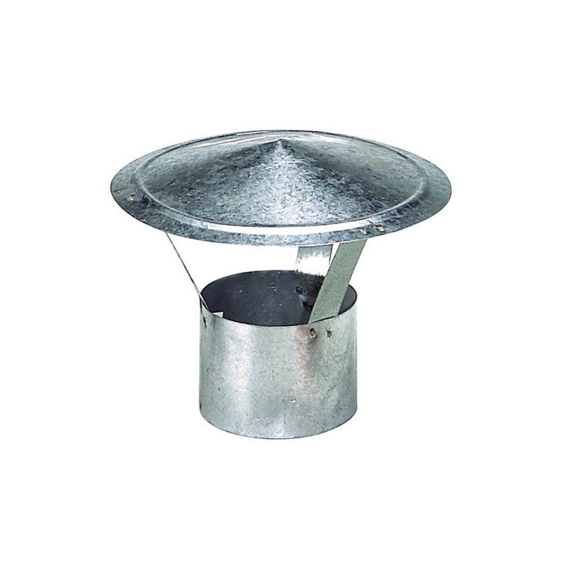 Hat Galvanized Stove 100mm.