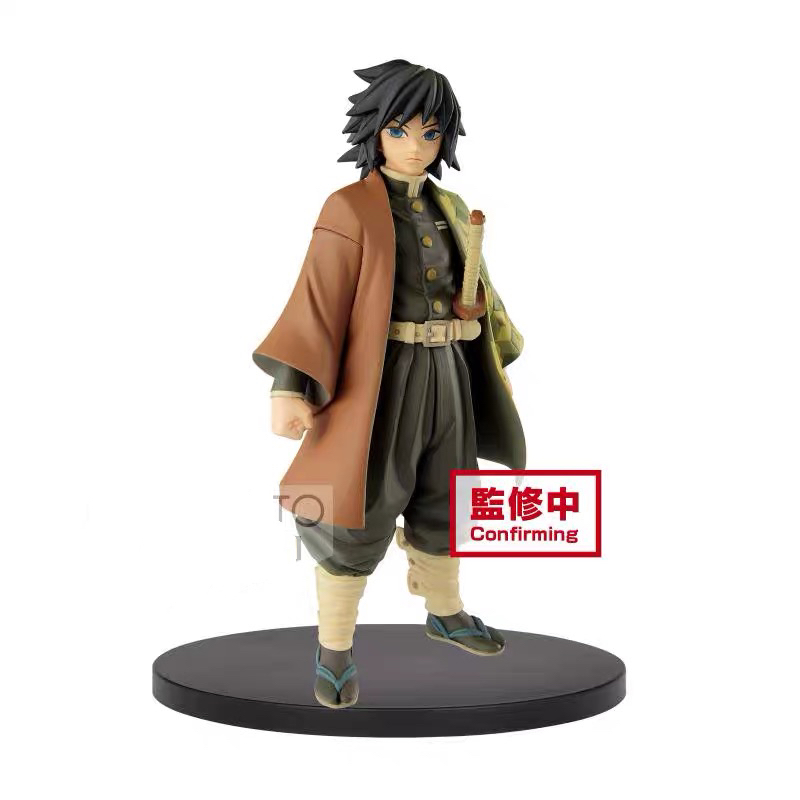 In Stock Original Banpresto Demon Slayer Kimetsu No Yaiba Figure Giyu Tomioka PVC Action Figure Model Figurine