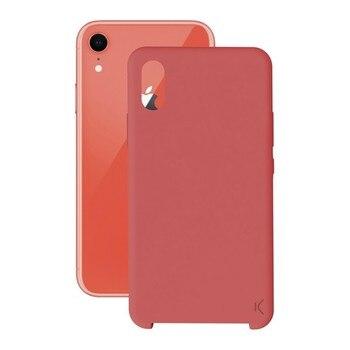 נייד כיסוי Iphone Xr KSIX רך אדום      -