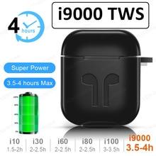I9000 TWS беспроводные наушники Air 2 с обратным магнитом Bluetooth 5,0 наушники PK i12 i20 i30 i7S i9S i500 i200 i10000 TWS