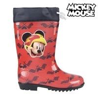 Crianças botas de água mickey mouse 73486 vermelho|  -