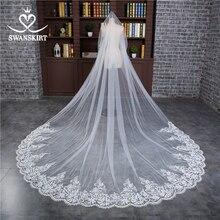 Swanskirt Angepasst Hochzeit Schleier nach maß Braut Schleier ACC