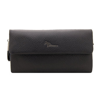 Clutch male pellecon genuine leather