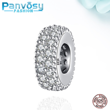New CZ Jewelry Making Sterling Silver 925 Bead Fit Pandora Charms Silver 925 Original Bracelet 2020 Charm Beads DIY Gift Women new arrival 925 silver charms beads with colorful cz stone fit authentic pandora bracelet diy fashion jewelry making women gift