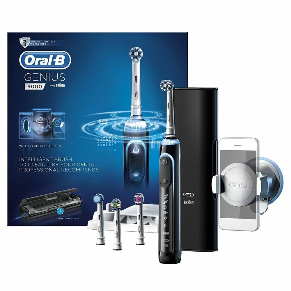 ORAL-B GENIUS 9000 Electric Toothbrush Braun NEW IN THE BOX - FAST SHIPPING image