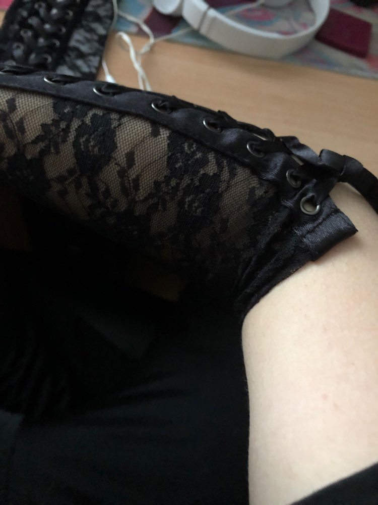Lace Long Fingerless Gloves photo review