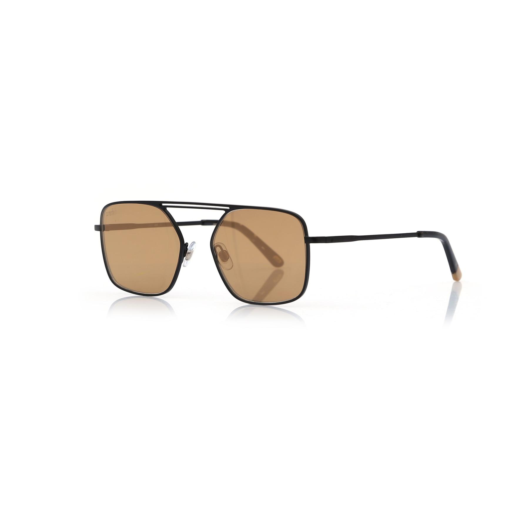 Men's sunglasses w 0209 02g metal black organic square square 53-18-145 web