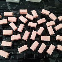 少女心~草莓牛轧糖的做法图解10