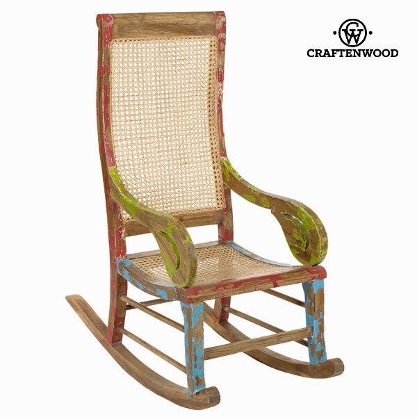 Rocking Chair Mindi Wood (113 X 110 X 55 Cm) By Craftenwood