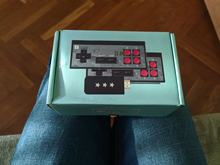 Cool console. Small, comfortable, with wireless joysticks. Works properly, does not overhe