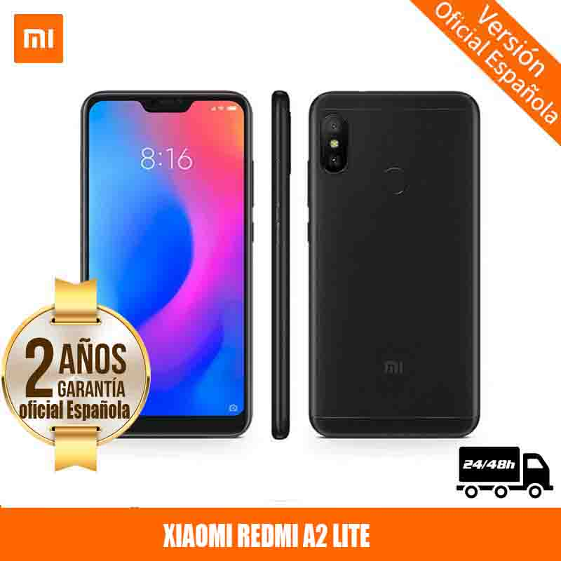 [Официальная гарантия испанской версии] Xiaomi Mi A2 Lite 5,84 SIM Double 3 жесткий Гб 32 жесткий ГБ 4000 мАч смартфон (14,8 см (5,84 ), 3 жестких ГБ, 32 жестких ГБ