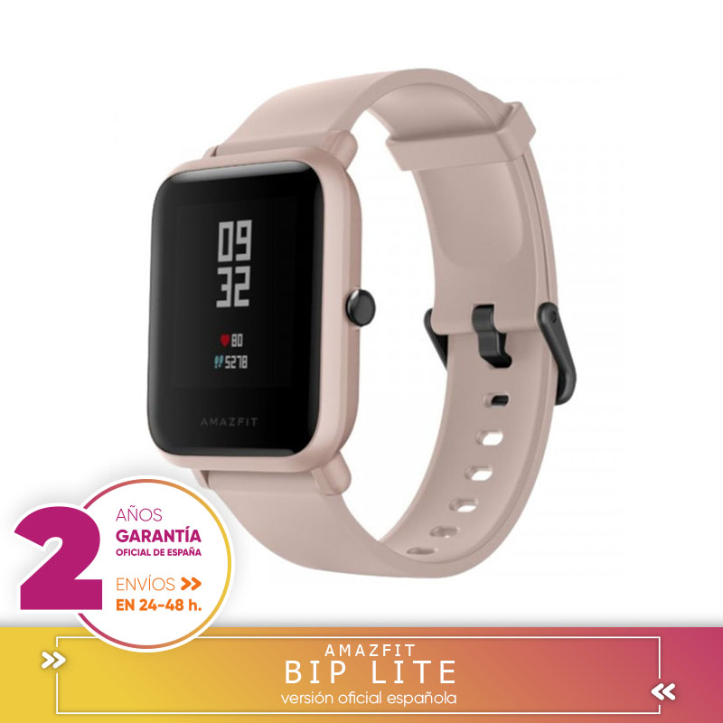 Xiaomi Huami Amazfit Bip Lite Smartwatch 3ATM résistente al agua 45 días en espera 1.28 pulgadas pantalon táctil Bluetooth 4.1