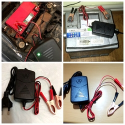 Battery charger 12v Car Battery Charger Maintainer Amp Volt Trickle for Car Truck Motorcycle M8617