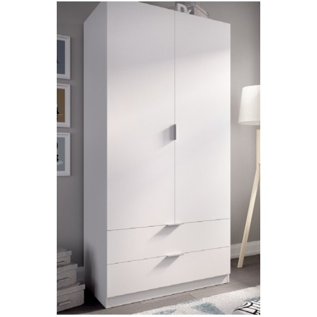 Wardrobe 2 Doors 2 Drawers 81 Cm Wide