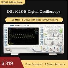 Rigol DS1102Z-E 100mhz digital osciloscópio 2 canais analógicos