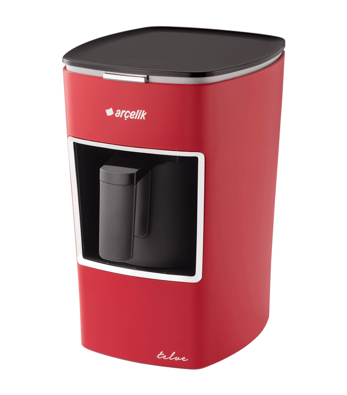 Arcelik K 3300 White Mini Coffee Machine Turkish Coffee Machine | Automatic | 1 Cup Capacity |