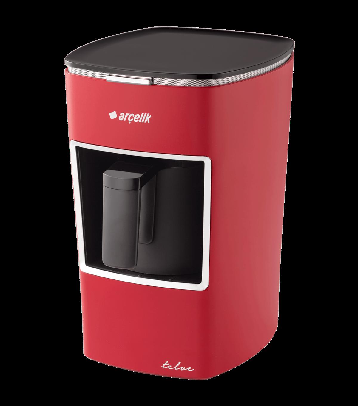Arcelik K 3300 White Mini Coffee Machine Turkish Coffee Machine | Automatic | 1 Cup Capacity |