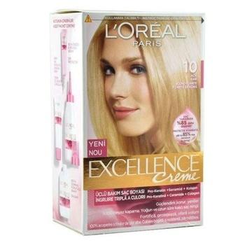 Loreal doskonałości farba do włosów 10 światło żółte 247234085 tanie i dobre opinie