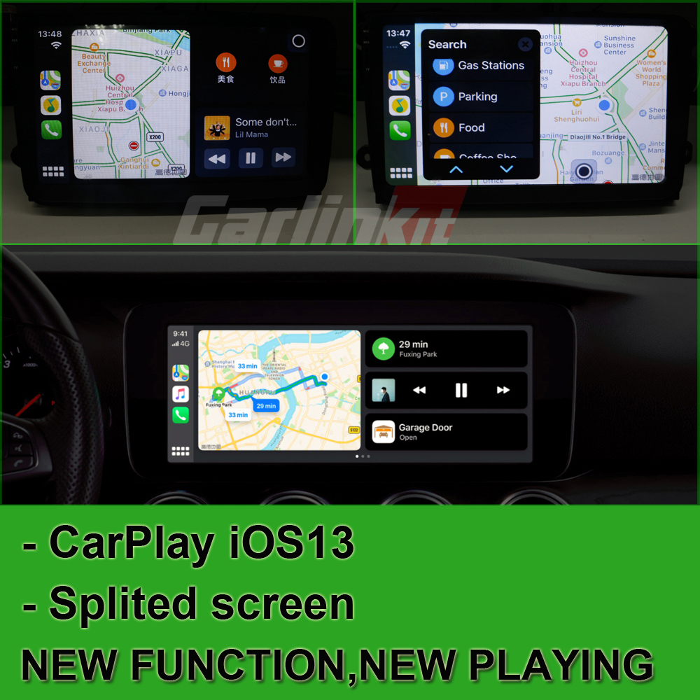 lecteur CarPlay Apple Navigation