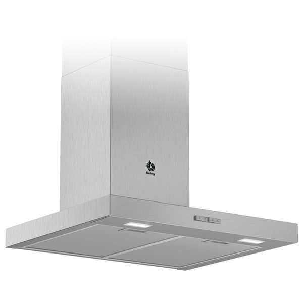 Conventional Hood Balay 3BC066MX 60 Cm 590 M3/h 69 DB 220 W Stainless Steel