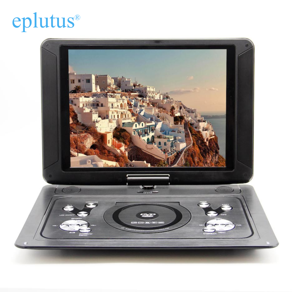 Portable DVD Player With Digital Tuner DVB-T2 Eplutus 153 Inch